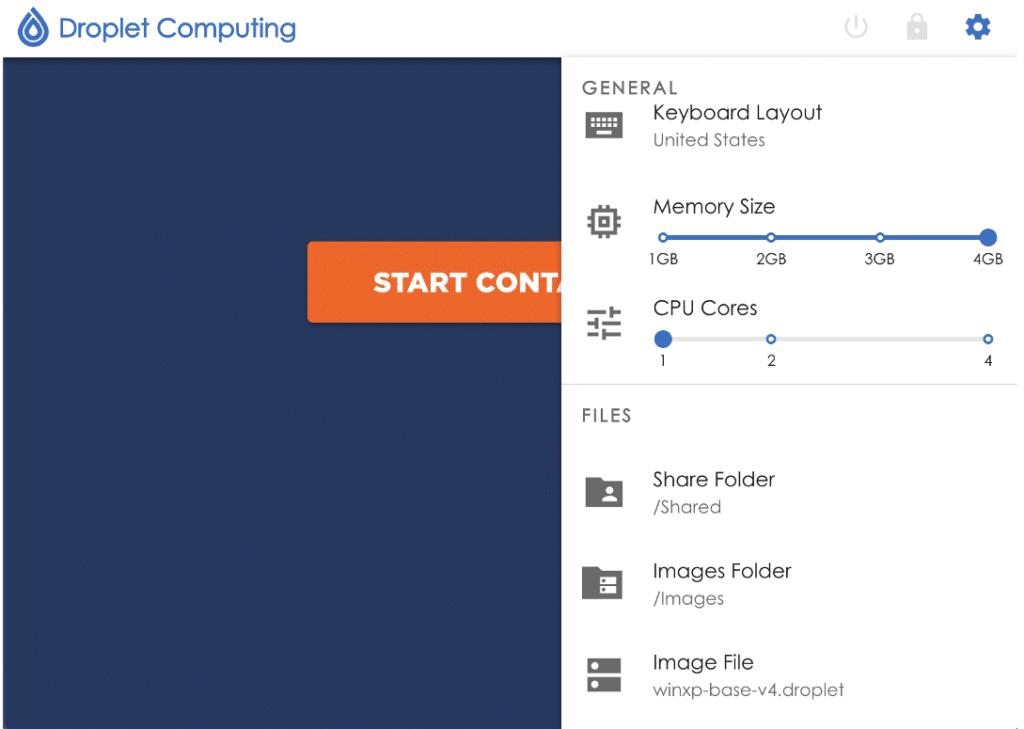 Droplet Computing