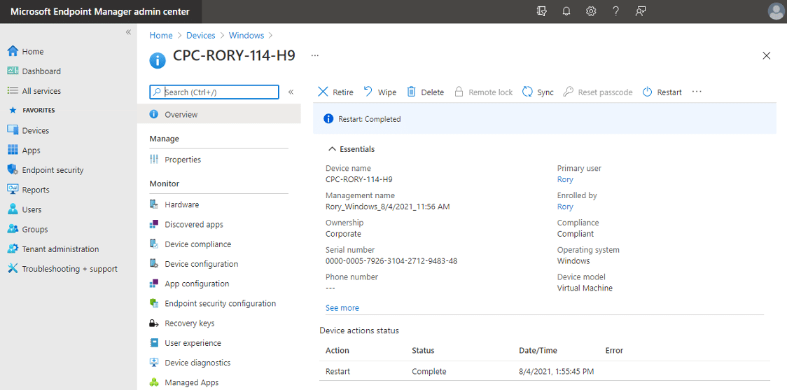 Windows 365 MEM